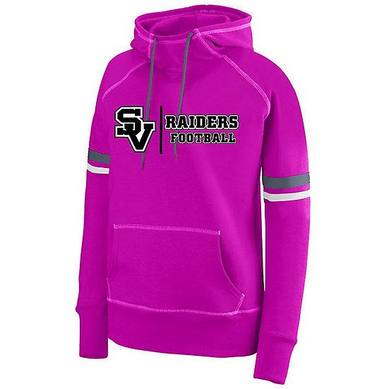 SVJuniorFootball.-Women's Spry Pink Hoodie
