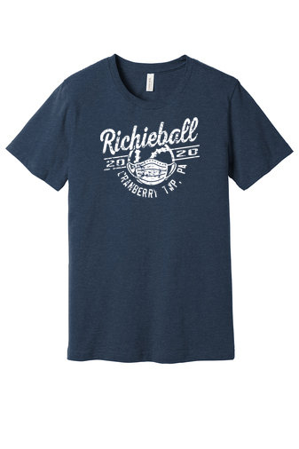 Richieball-Cranberry-Bella and Canvas Shirt