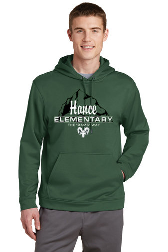 PRHance-Youth Performance Hoodie-Hance Logo