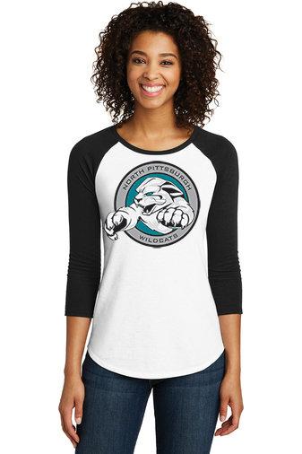 NP Wildcats-Women's Baseball Style Shirt