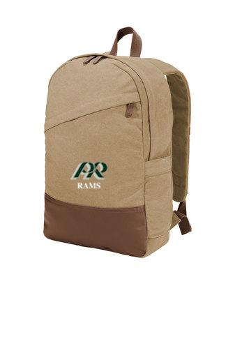 PRHS-Canvas Backpack-PR Design