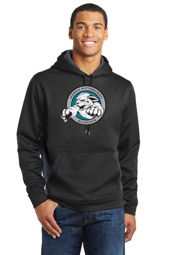 NP Wildcats-Performance Hoodie Camohex Sides