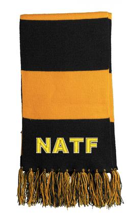 NATF-Striped Scarf