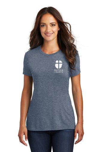 DutilhChurch-Women's Relaxed Short Sleeve Shirt-Left Chest