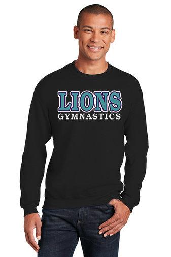 LionsGymnastics-Crewneck Sweatshirt