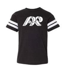 PREden-Girls Athletic Shirt-White PR Logo