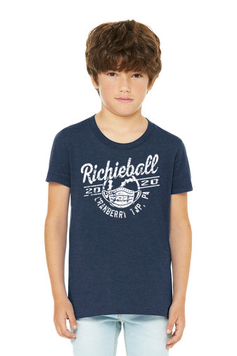Richieball-Cranberry-Youth Bella and Canvas Shirt