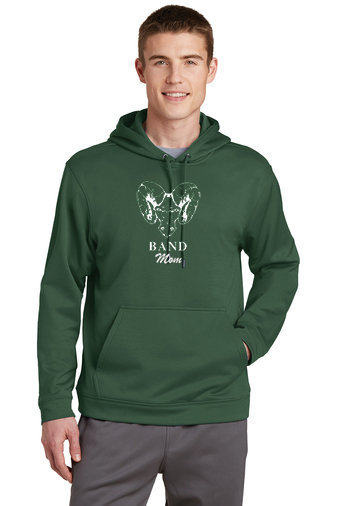 PRBand-Performance Hoodie-Ram Logo