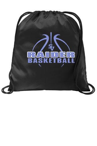 SVBBBall-Printed Cinch Bag