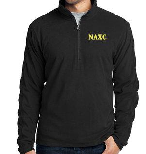 NAXC-Men's Quarter Zip Fleece Jacket