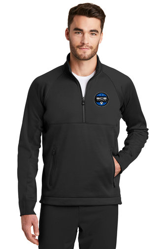 SCS-Men's New Era Quarter Zip Jacket