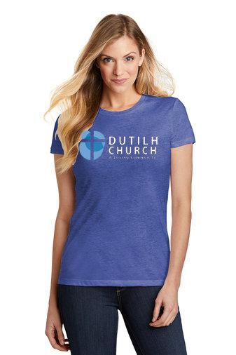 DutilhChurch-Women's Fitted Short Sleeve Shirt