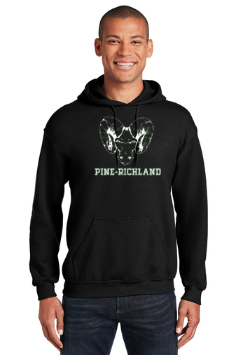 PRHance-Youth Hoodie-Ram Head Design