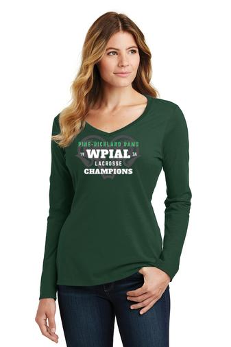PR WPIAL Champs-Women's Long Sleeve Shirt