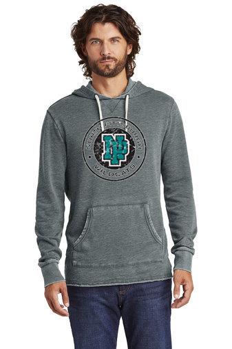 NP Wildcats-Vintage Hoodie-Distressed Logo
