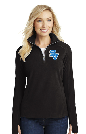 SVBBBall-Women's Quarter Zip Fleece Jacket