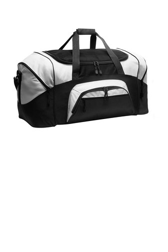 SVFootball-Large Colorblock Duffle Bag