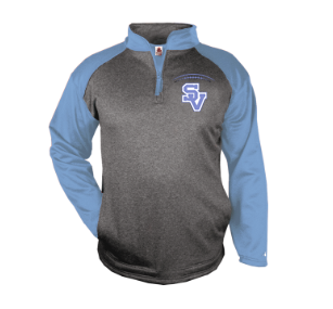 SVJuniorFootball-Badger Tonal Quarter Zip Jacket
