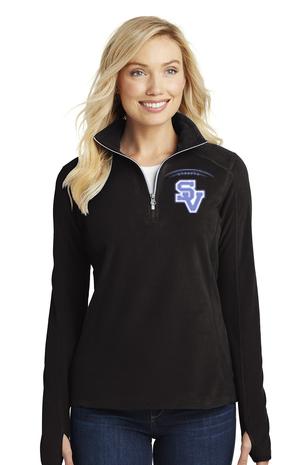 SVJuniorFootball-Women's Quarter Zip Fleece Jacket