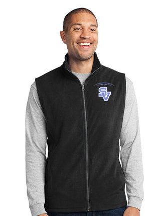 SVFootball-Men's Full Zip Fleece Vest