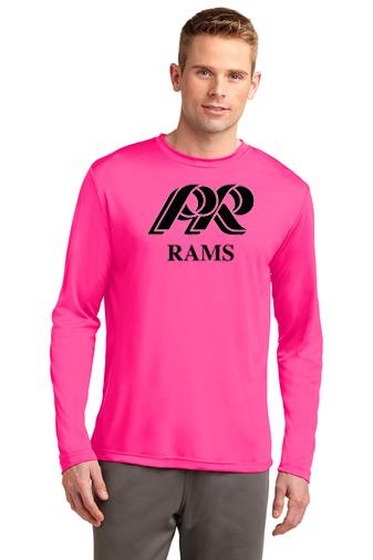 PRHS-Long Sleeve Dri Fit-Pink Design