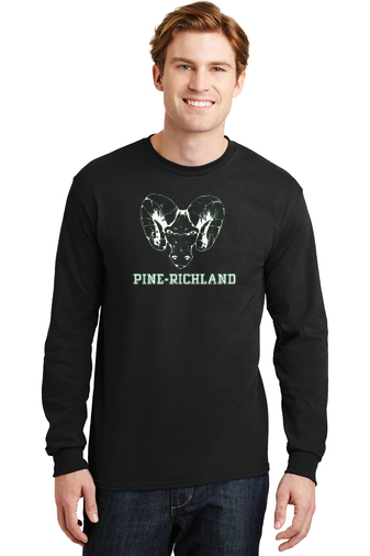 PRHance-Youth Long Sleeve-Ram Head Design