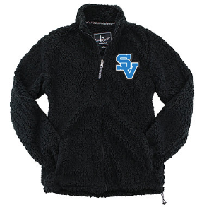 SVGirlsSoccer-Men's Sherpa Full Zip Jacket