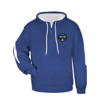 SCS-Badger Sideline Hoodie-Left Chest Logo