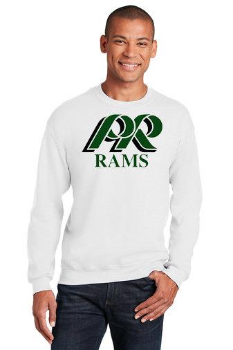 PRCheer-Crewneck Sweatshirt-PR Rams Logo