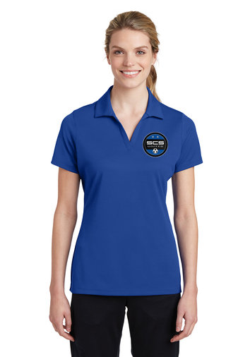 SCS-Women's Polyester Polo