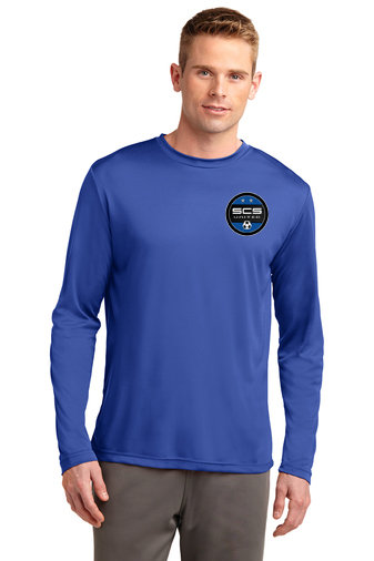 SCS-Long Sleeve Dri Fit Shirt-Left Chest Logo