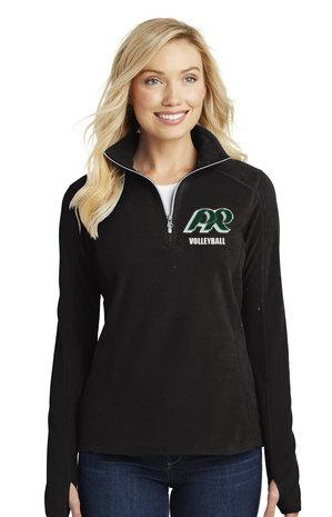 PRVolleyball-Women's Quarter Zip Fleece Jacket
