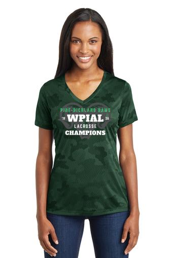 PR WPIAL Champs-Women's Camohex Shirt