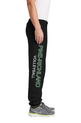 PRVolleyball-Sweatpants-Leg Logo