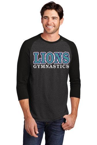 LionsGymnastics-Men's Baseball Style Shirt