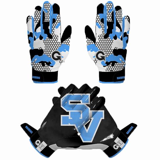 SVJuniorFootball-Football Gloves