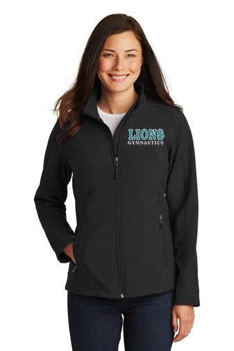 LionsGymnastics-Women's Full Zip Soft Shell Jacket