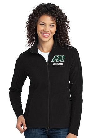 PRVolleyball-Women's Full  Zip Fleece Jacket