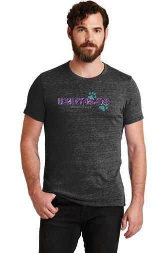 LionsGymnastics-Men's Alternative Apparel Soft Style Shirt-Logo 2