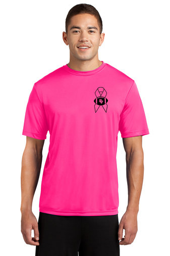 SVFootball-Pink Short Sleeve Dri Fit