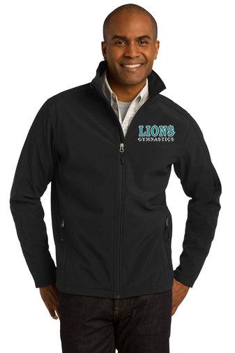 LionsGymnastics-Men's Full Zip Soft Shell Jacket