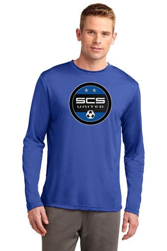 SCS-Long Sleeve Dri Fit Shirt-Round Logo