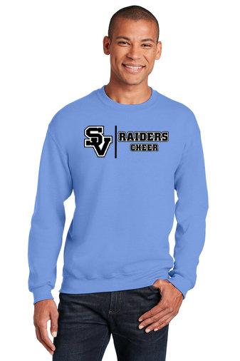 SVJuniorFootball-Crewneck Sweatshirt-Cheer Logo 1