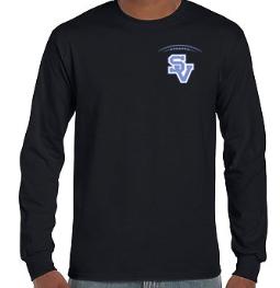 SVFootball-Long Sleeve Shirt-Left Chest Logo