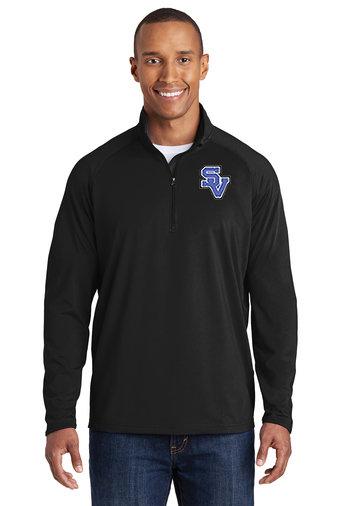 SVEvansCity-Men's Sport Wick Quarter Zip Jacket