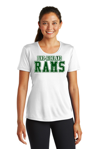 PRHance-Women's Short Sleeve Dri Fit-PR Rams Design