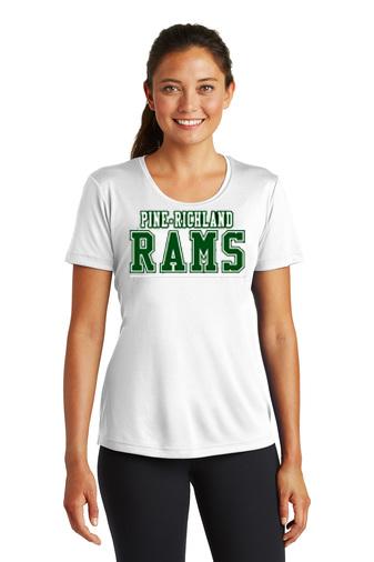 PREden-Women's Short Sleeve Dri Fit-PR Rams Design
