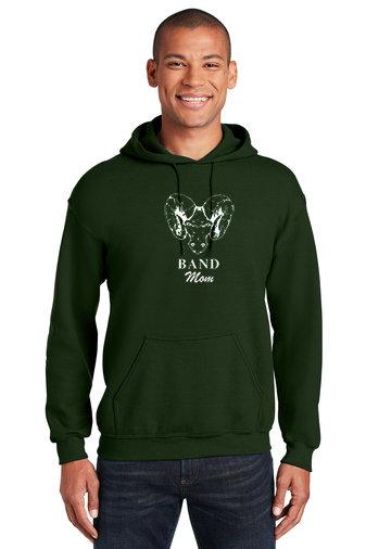 PRBand-Hoodie-Ram Logo