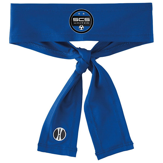 SCS-Athletic Tie-Back Headband