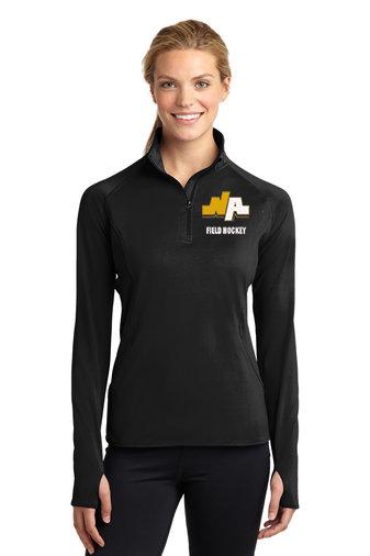 NAFH-Women's Sport Wick Quarter Zip Jacket